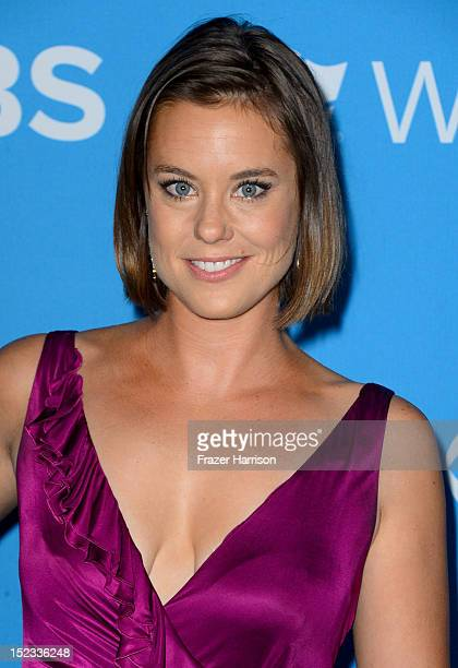 Actress Ashley Williams arrives at CBS 2012 fall premiere party held at Greystone Manor Supperclub on September 18 2012 in West Hollywood California