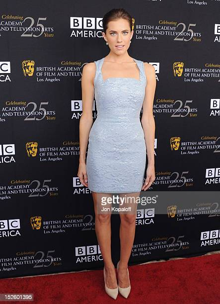 Actress Ashley Williams arrives at the BAFTA Los Angeles TV Tea 2012 Presented By BBC America at The London Hotel on September 22, 2012 in West...