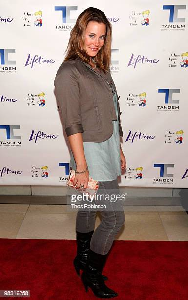 Actress Ashley Williams attends ''Patricia Cornwell's The Front'' New York Premiere at the Hearst Tower on April 7 2010 in New York City