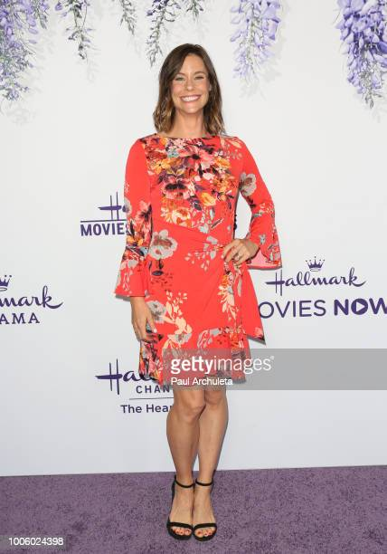 Actress Ashley Williams attends the 2018 Hallmark Channel Summer TCA at Private Residence on July 26 2018 in Beverly Hills California