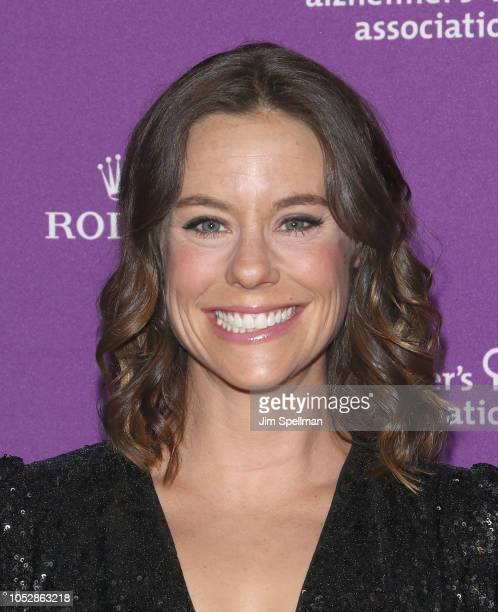 Actress Ashley Williams attends the 35th Annual Alzheimer's Association Rita Hayworth Gala at Cipriani 42nd Street on October 23 2018 in New York City