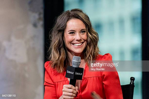 Actress Ashley Williams discusses The Jim Gaffigan Show with AOL Bulild at AOL Studios In New York on June 22 2016 in New York City