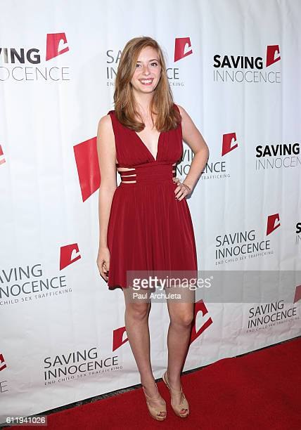 Actress Ashlyn Pearce attends the Saving Innocence's 5th Annual Gala at Loews Hollywood Hotel on October 1 2016 in Hollywood California