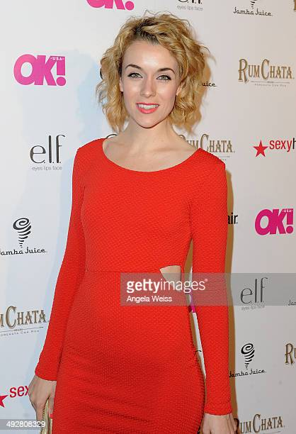 Actress Ashlynn Yennie attends OK Magazine's So Sexy LA Event at LURE on May 21 2014 in Los Angeles California