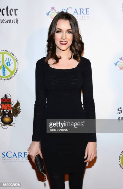 Actress Ashlynn Yennie attends the 1st Annual HelLA Horror Night Charity Event at Los Angeles Theatre on October 31 2017 in Los Angeles California