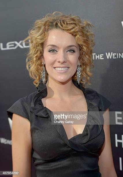 Actress Ashlynn Yennie attends the 2nd annual Lexus Short Films Life Is Amazing presented by The Weinstein Company and Lexus at LA Live on July 30...