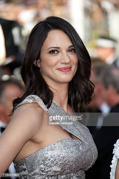 Actress Asia Argento attends the 'Coco Chanel Igor Stravinsky' Premiere at the Grand Theatre Lumiere during the 62nd Annual Cannes Film Festival on...