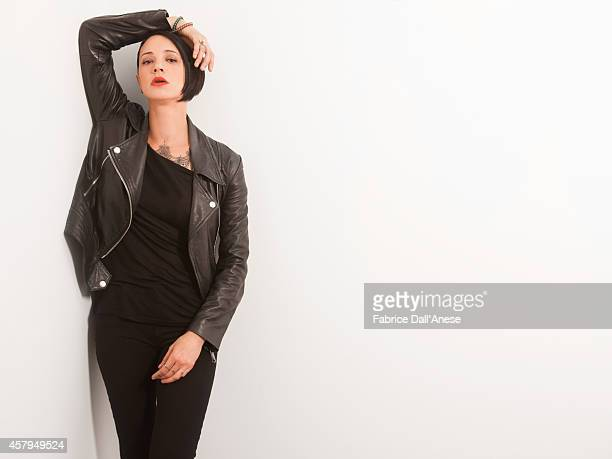 Actress Asia Argento is photographed for Vanity Fair Italy on May 15 2014 in Cannes France