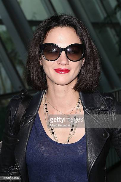 Actress Asia Argento is sighted at Nice airport after the 66th Annual Cannes Film Festival on May 27 2013 in Nice France