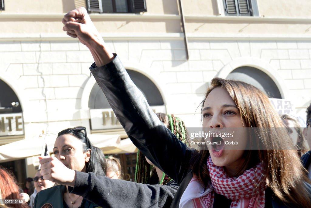 Women's March Rome 2018