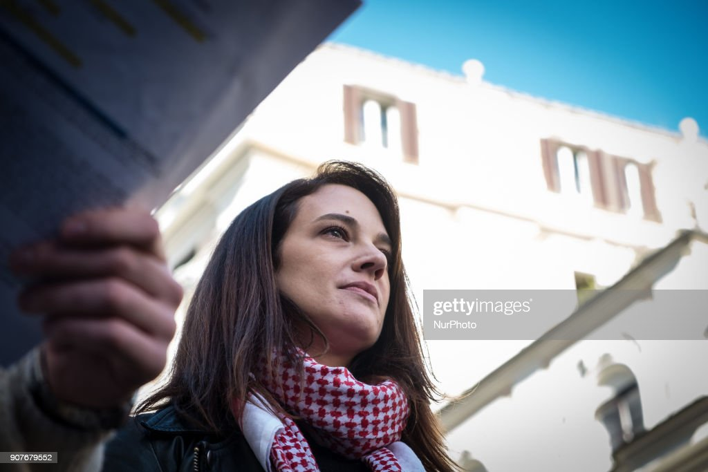 Women's March Rome 2018 : News Photo