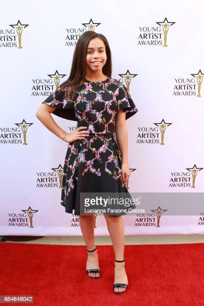 Actress Asia Monet Ray attends the 38th Annual Young Artists Awards at Alex Theatre on March 17 2017 in Glendale California