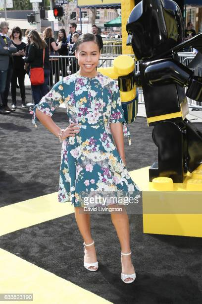 Actress Asia Monet Ray attends the Premiere of Warner Bros Pictures' 'The LEGO Batman Movie' at the Regency Village Theatre on February 4 2017 in...