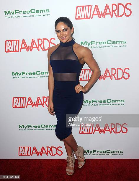 Actress Aspen Rae arrives for the 2017 AVN Awards Nomination Party held at Avalon on November 17 2016 in Hollywood California