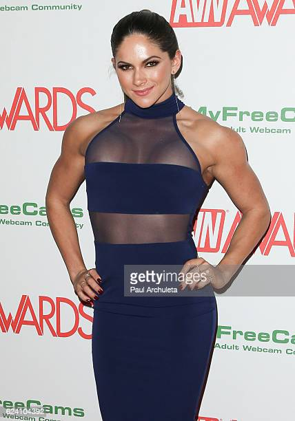 Actress Aspen Rae attends the 2017 AVN Awards nomination party at Avalon on November 17 2016 in Hollywood California