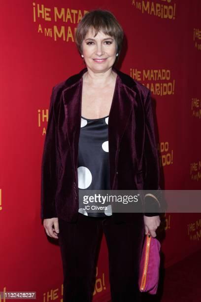 Actress Assumpta Serna attends 'HE MATADO A MI MARIDO' Los Angeles Premiere at Harmony Gold Theatre on February 26 2019 in Los Angeles California