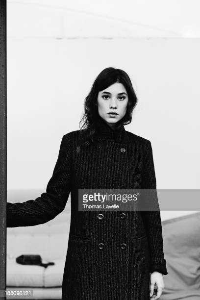 Actress Astrid Berges Frisbey is photographed for Self Assignment during the 8th Rome Film Festival on November 10 2013 in Rome Italy