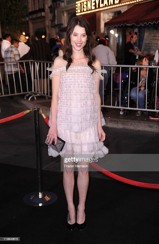 Actress Astrid Berges-Frisbey arrives at premiere of Walt Disney Pictures' 'Pirates of the Caribbean: On Stranger Tides' held at Disneyland on May 7, 2011 in Anaheim, California. Proceeds from the world premiere of Walt Disney Pictures' 'Pirates Of The Caribbean: On Stranger Tides' will benefit the Boys & Girls Clubs of America.
