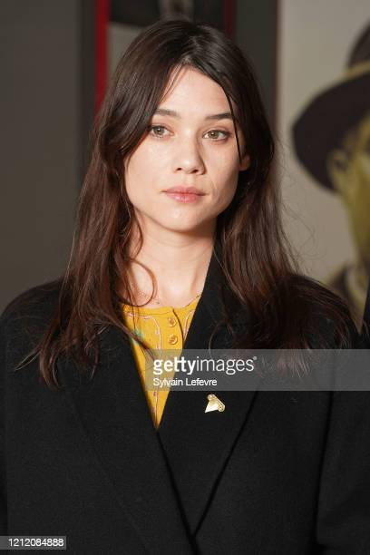 Actress Astrid BergesFrisbey attends jury photocall of the 10th Luxembourg City Film Festival on March 12 2020 in Luxembourg Luxembourg