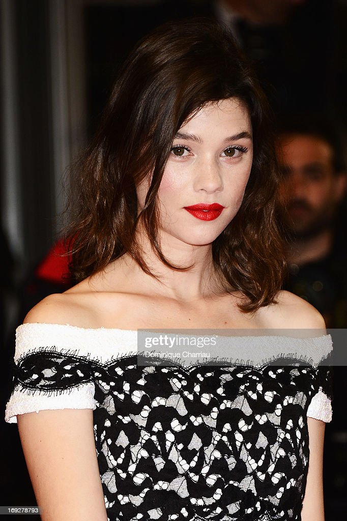 Actress Astrid Berges-Frisbey attends the Premiere of 'Only God Forgives' at The 66th Annual Cannes Film Festival on May 22, 2013 in Cannes, France.