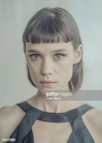 Actress Astrid BergesFrisbey is photographed for Grazia Daily on May 2018 in Cannes France