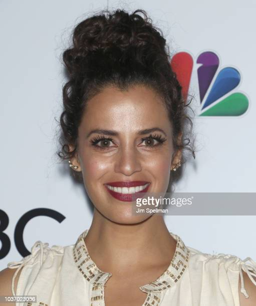 Actress Athena Karkanis attends the party for the casts of NBC's 20182019 Season hosted by NBC and The Cinema Society at Four Seasons Restaurant on...