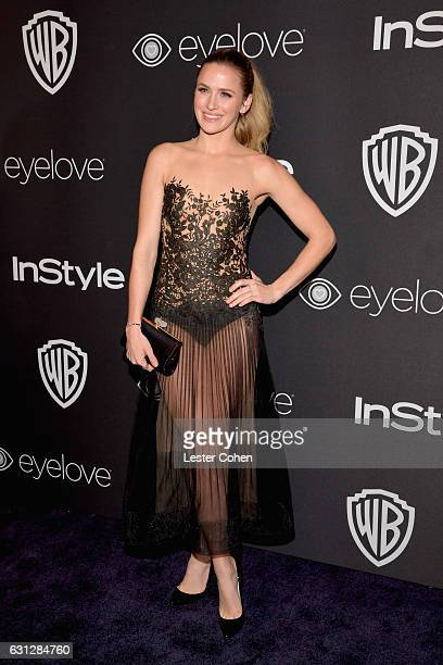 Actress attends the 18th Annual PostGolden Globes Party hosted by Warner Bros Pictures and InStyle at The Beverly Hilton Hotel on January 8 2017 in...