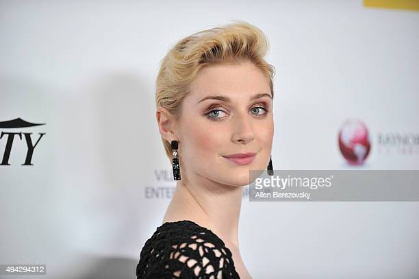 Actress attends the 4th Annual Australians in Film Awards Benefit Dinner and Gala at InterContinental Hotel on October 25 2015 in Century City...