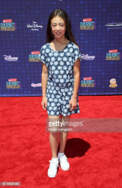 Actress Aubrey AndersonEmmons attends the 2017 Radio Disney Music Awards at Microsoft Theater on April 29 2017 in Los Angeles California