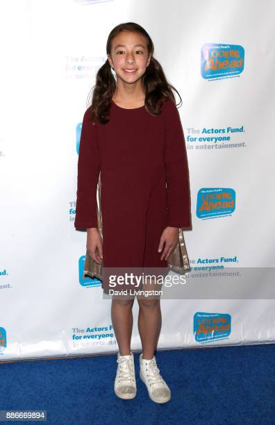 Actress Aubrey AndersonEmmons attends The Actors Fund's 2017 Looking Ahead Awards honoring the youth cast of NBC's 'This Is Us' at Taglyan Complex on...