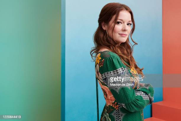 Actress Aubrey Dollar is photographed for Entertainment Weekly Magazine on February 27, 2020 at Savannah College of Art and Design in Savannah,...