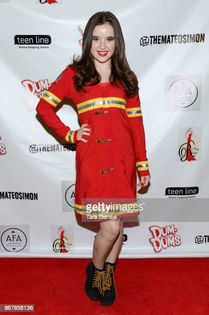 Actress Aubrey K Miller attends Mateo Simon's Halloween Charity Event on October 28 2017 in Burbank California