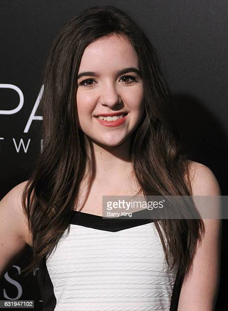 Actress Aubrey Miller attends the premiere of STX Entertainment's 'The Space Between Us' at ArcLight Hollywood on January 17 2017 in Hollywood...