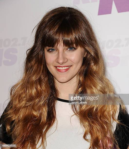 Actress Aubrey Peeples attends 1027 KIIS FM's 2014 Wango Tango at StubHub Center on May 10 2014 in Los Angeles California