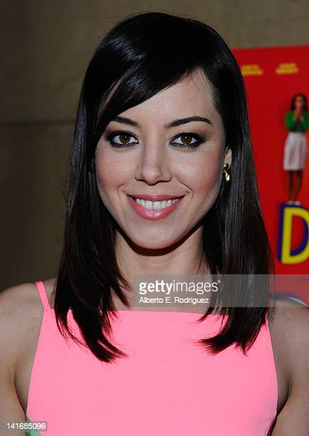 Actress Aubrey Plaza arrives to the Premiere of Sony Pictures Classics' Damsels In Distress at the Egyptian Theatre on March 21 2012 in Hollywood...