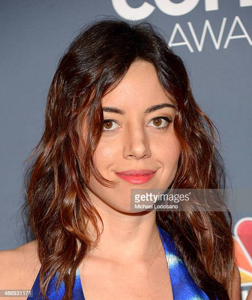 Actress Aubrey Plaza attends 2014 American Comedy Awards at Hammerstein Ballroom on April 26, 2014 in New York City.