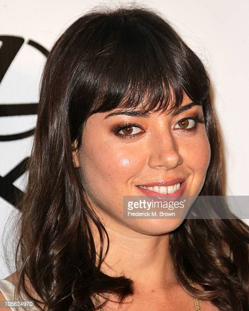 Actress Aubrey Plaza attends the 20th annual Enviornmental Media Association Awards at Warner Brothers Studios on October 16 2010 in Burbank...
