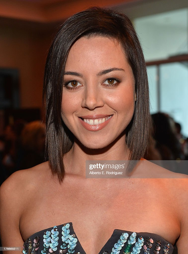 Actress Aubrey Plaza attends the 28th Annual Imagen Awards at The Beverly Hilton Hotel on August 16, 2013 in Beverly Hills, California.
