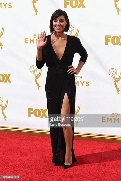 Actress Aubrey Plaza attends the 67th Annual Primetime Emmy Awards at Microsoft Theater on September 20, 2015 in Los Angeles, California.