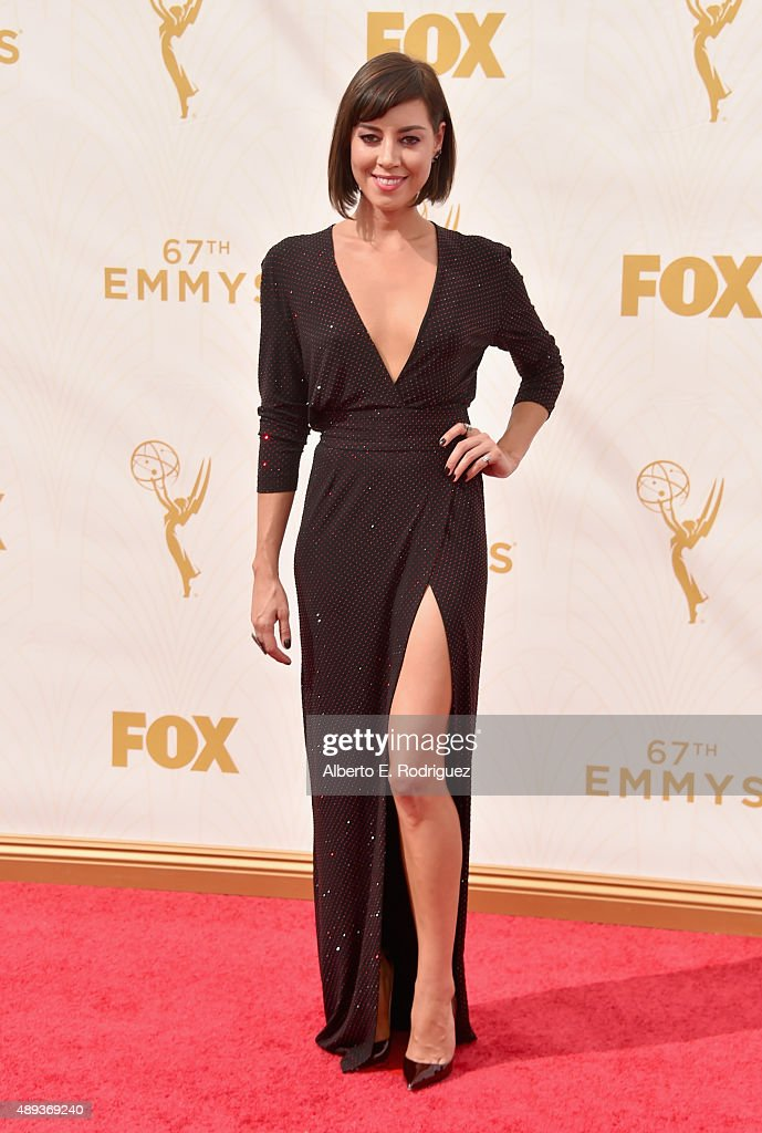 TNT LA - 67th Emmy Awards - Red Carpet : News Photo