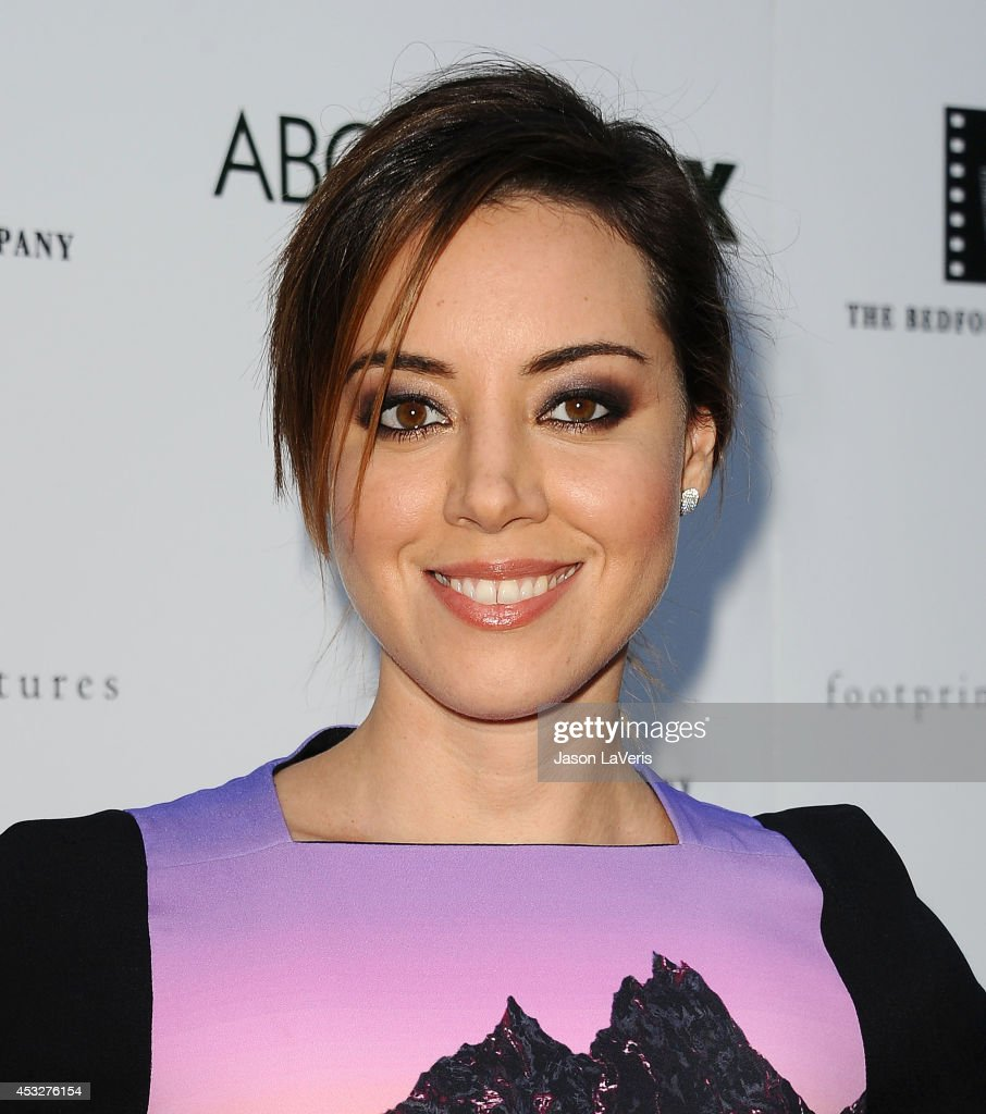 Actress Aubrey Plaza attends the premiere of 'About Alex' at ArcLight Hollywood on August 6, 2014 in Hollywood, California.
