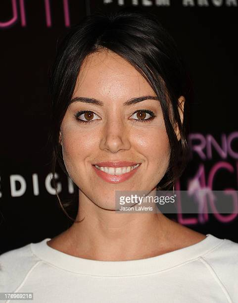 Actress Aubrey Plaza attends the premiere of 'Afternoon Delight' at ArcLight Hollywood on August 19 2013 in Hollywood California
