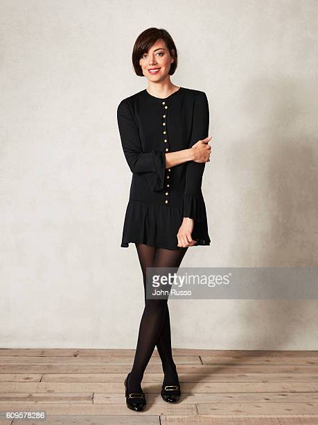 Actress Aubrey Plaza is photographed for 20th Century Fox on May 26 2016 in Los Angeles California