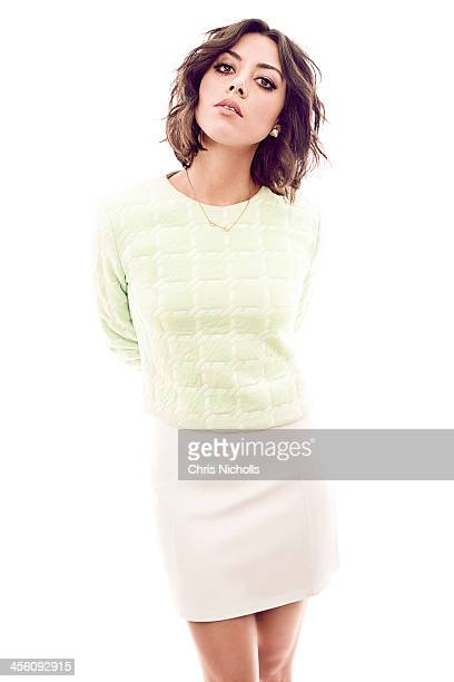 Actress Aubrey Plaza is photographed for Glow Magazine on December 1, 2013 in Los Angeles, California. PUBLISHED IMAGE.