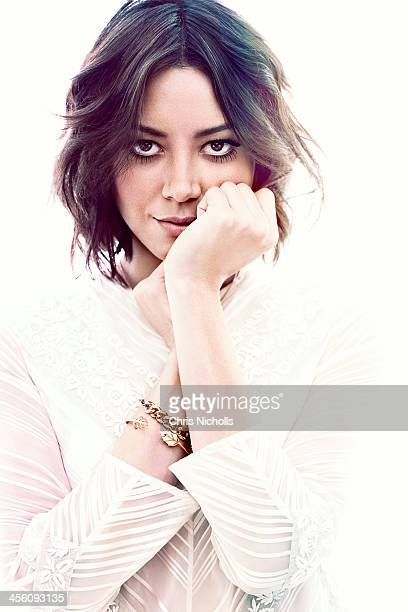 Actress Aubrey Plaza is photographed for Glow Magazine on December 1 2013 in Los Angeles California COVER IMAGE