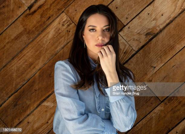 Actress Aubrey Plaza is photographed for Los Angeles Times on November 17, 2020 in East Hollywood, California. PUBLISHED IMAGE. CREDIT MUST READ:...