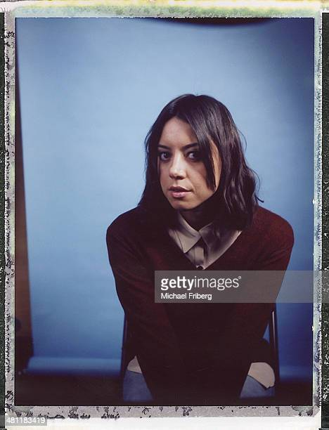 Actress Aubrey Plaza is photographed for Variety on January 18 2014 in Park City Utah