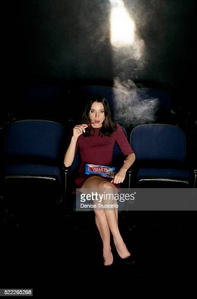 Actress Aubrey Plaza poses for a portrait at CinemaCon 2013 on April 18, 2013 in Las Vegas, Nevada.