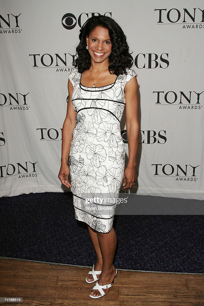 Actress Audra McDonald attends the 2007 Tony Awards nominees press reception at the Marriott Marquis on May 16, 2007 in New York City.