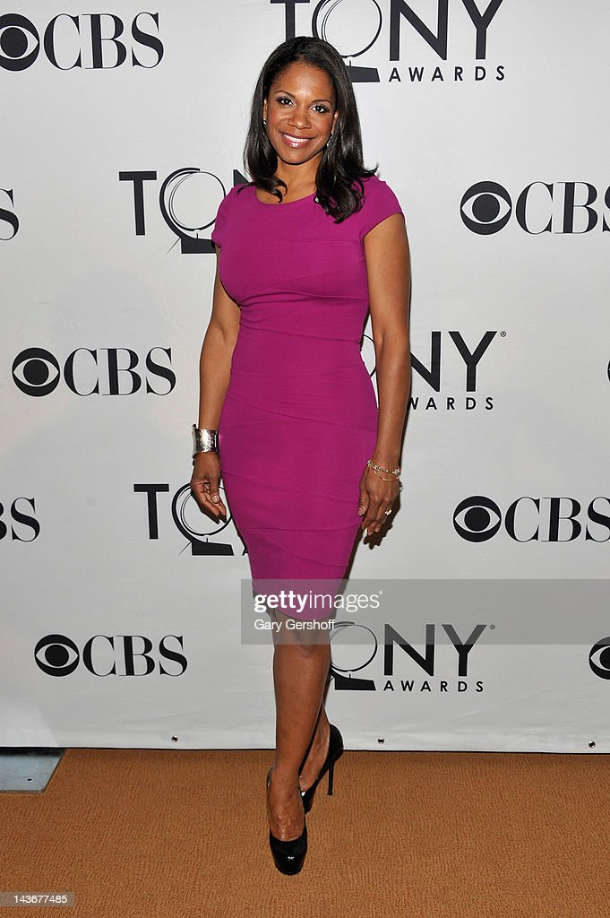 Actress Audra McDonald attends the 2012 Tony Awards - Meet The Nominees Press Reception at Millennium Broadway Hotel on May 2, 2012 in New York City.